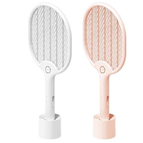 電蚊拍推薦─Beson_和風LED燈電蚊拍