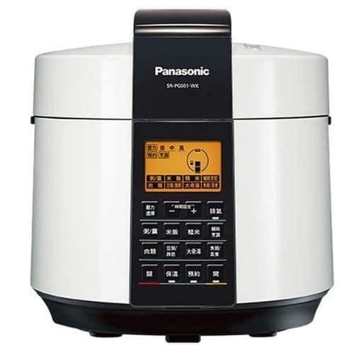 萬用鍋/電子壓力鍋推薦─國際牌Panasonic_SR-PG501