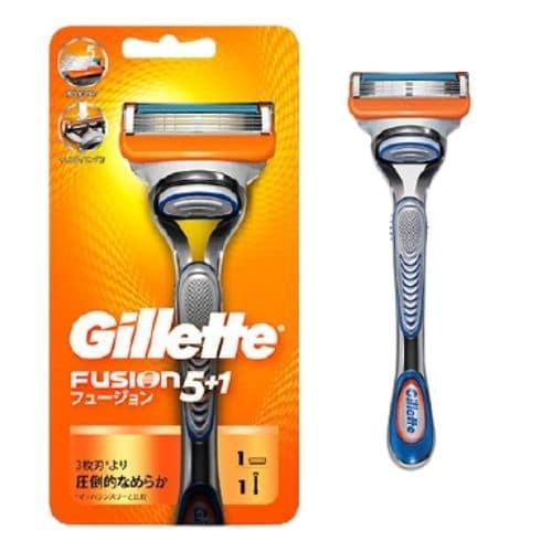 手動刮鬍刀推薦─吉列Gillette_Fusion