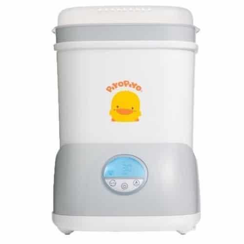 奶瓶消毒鍋推薦─黃色小鴨Piyo Piyo_baby-bottle-sterilizers