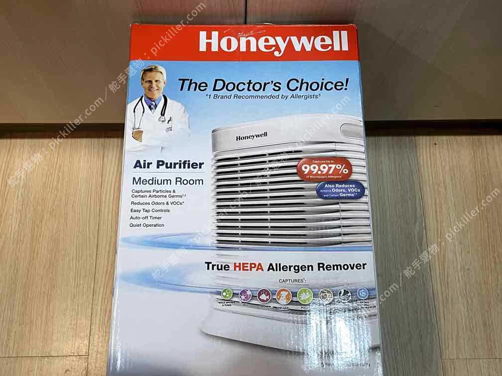 空氣清淨機Honeywell HPA-100APTW開箱_02