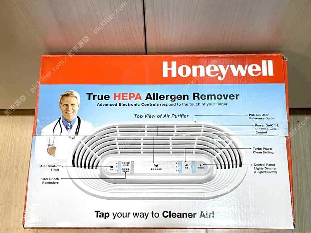 空氣清淨機Honeywell HPA-100APTW開箱_03