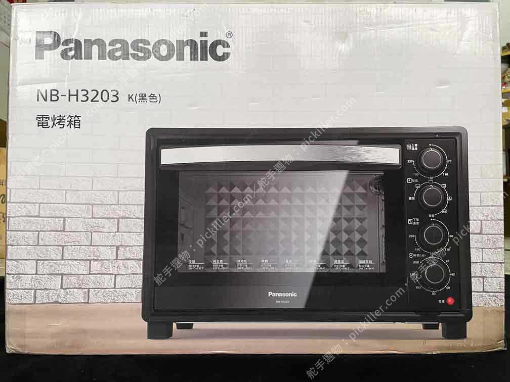 Panasonic電烤箱NB-H3203開箱_01