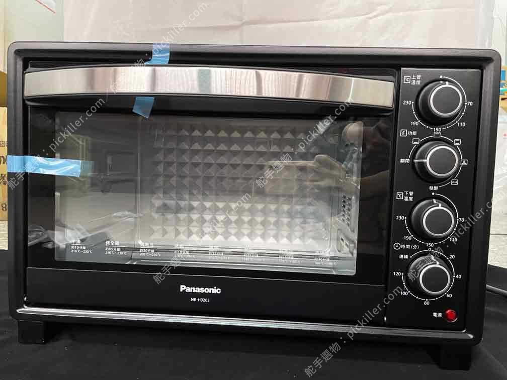 Panasonic電烤箱NB-H3203開箱_12
