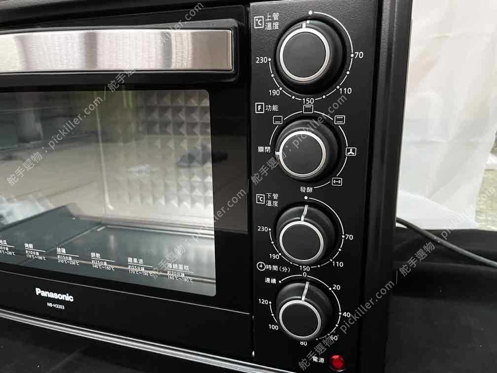 Panasonic電烤箱NB-H3203開箱_21