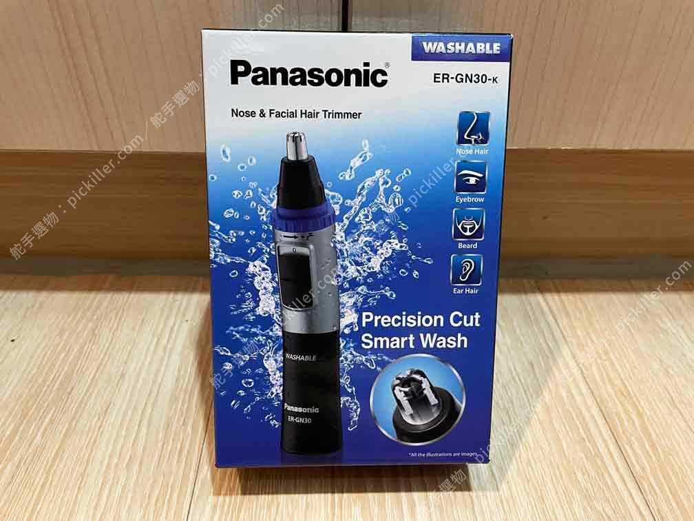 Panasonic鼻毛器ER-GN30開箱_01