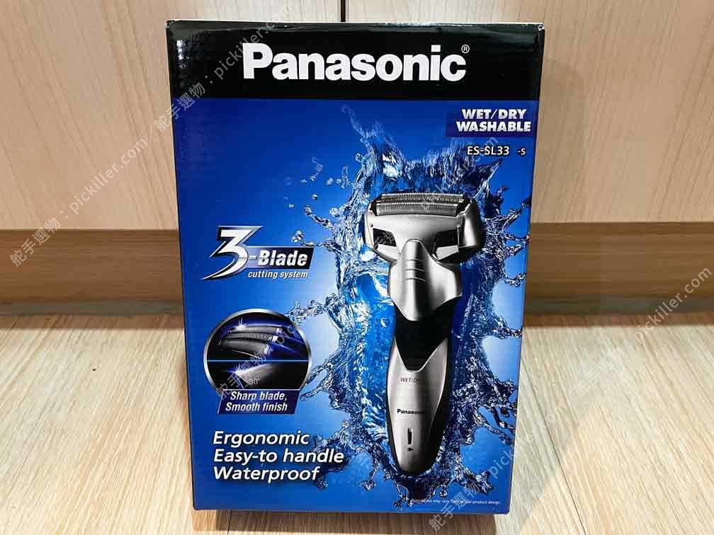 Panasonic刮鬍刀ES-SL33開箱_01