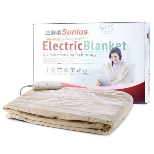電熱毯推薦─三樂事Sunlus_SP2405BR